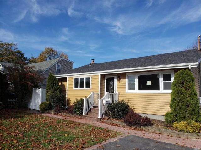 51 Claremont Ave, W. Babylon, NY 11704 (MLS #3079843) :: Netter Real Estate