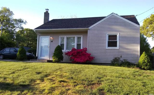 76 Shaber Rd, Patchogue, NY 11772 (MLS #3131909) :: Signature Premier Properties