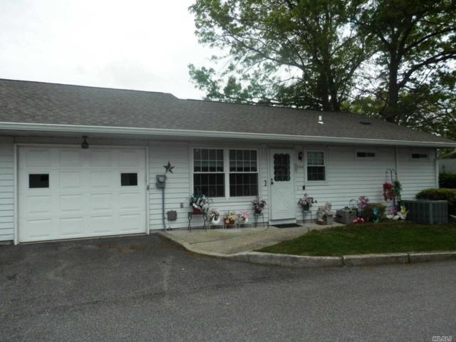 378A Woodbridge Dr 55+, Ridge, NY 11961 (MLS #3140465) :: Netter Real Estate