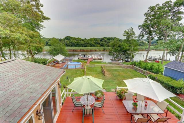 57 Crystal Beach Blvd, Moriches, NY 11955 (MLS #3102928) :: Netter Real Estate