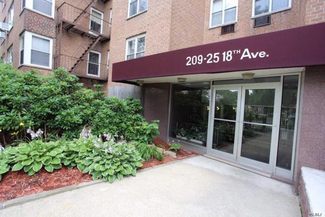 209-25 18 Ave 6J, Bayside, NY 11360 (MLS #3110452) :: Shares of New York