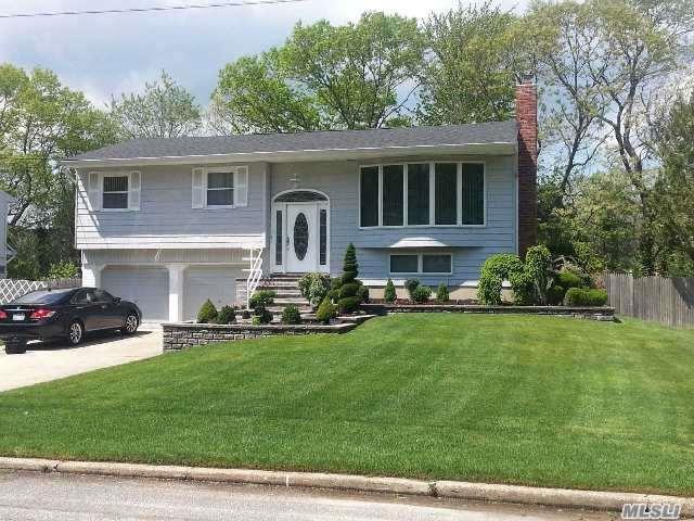 55 Woodbury Rd, Hauppauge, NY 11788 (MLS #2989531) :: The Lenard Team
