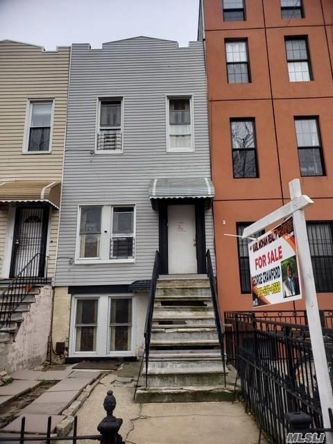 32 Woodbine St, Brooklyn, NY 11221 (MLS #3086790) :: Netter Real Estate