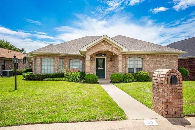 20 Estates Court, Longview, TX 75605 (MLS #20202791) :: RE/MAX Professionals - The Burks Team