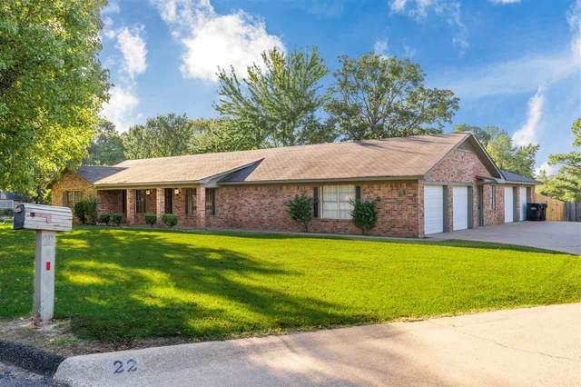 22 Spring Valley Circle, Longview, TX 75605 (MLS #20205339) :: RE/MAX Professionals - The Burks Team
