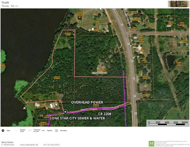 TBD Cr 2208, Daingerfield, TX 75638 (MLS #20212256) :: Better Homes and Gardens Real Estate Infinity