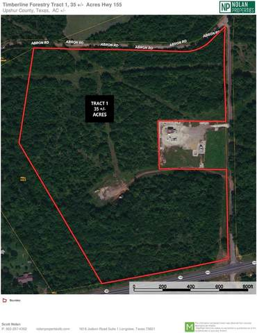 TBD Hwy 155 - Tract 1, Ore City, TX 75683 (MLS #20212499) :: Better Homes and Gardens Real Estate Infinity