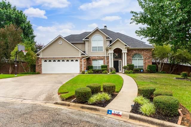 105 Brookside Circle, Longview, TX 75604 (MLS #20215261) :: RE/MAX Professionals - The Burks Team