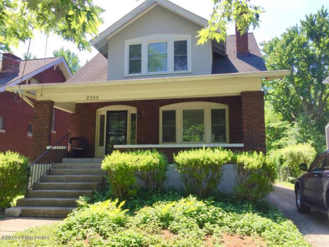 2322 Woodbourne Ave, Louisville, KY 40205 (#1509632) :: The Elizabeth Monarch Group