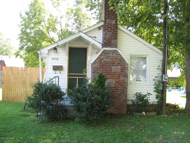 2416 Elmhurst Ave, Louisville, KY 40216 (#1515739) :: At Home In Louisville Real Estate Group