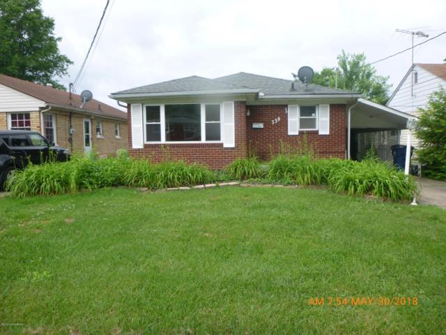 339 N Marshall Ave, Clarksville, IN 47129 (#1518730) :: Segrest Group