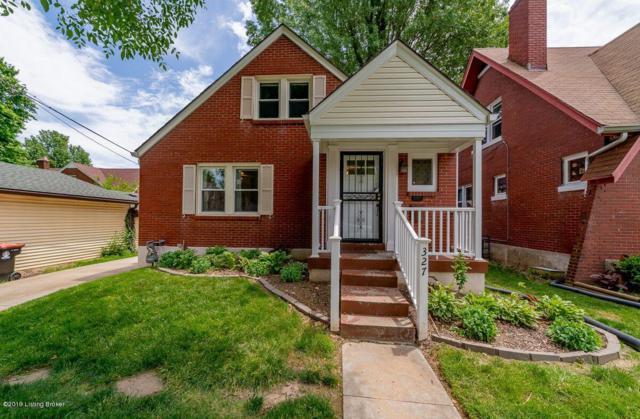 327 N Shawnee Terrace, Louisville, KY 40212 (#1532703) :: Team Panella