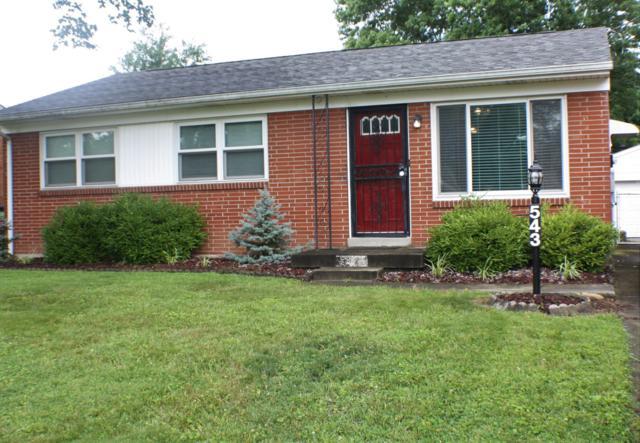 543 Blossom Rd, Louisville, KY 40229 (#1535690) :: Keller Williams Louisville East