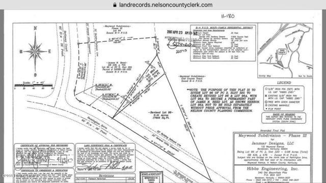 Lot 96 Remington Dr, Bardstown, KY 40004 (#1538250) :: The Sokoler-Medley Team