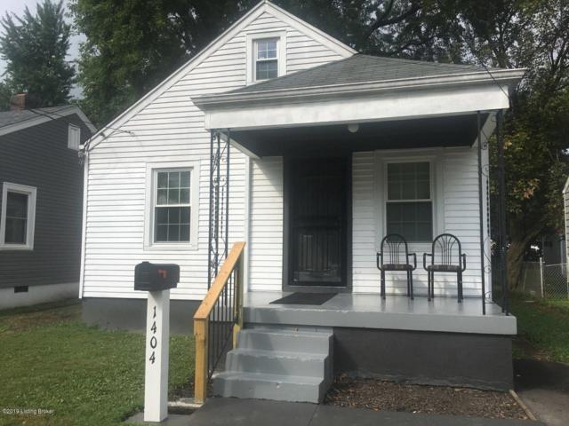 1404 Phyllis Ave, Louisville, KY 40215 (#1539178) :: The Sokoler-Medley Team