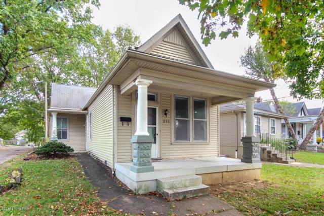 215 Saunders Ave, Louisville, KY 40206 (#1545899) :: At Home In Louisville Real Estate Group