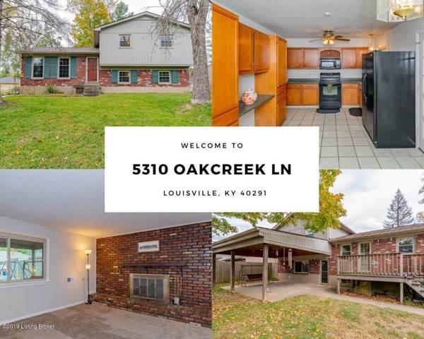 5310 Oakcreek Ln, Louisville, KY 40291 (#1546246) :: The Sokoler-Medley Team