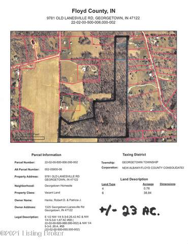 9781 Old Lanesville Rd, Georgetown, IN 47122 (#1579994) :: The Stiller Group