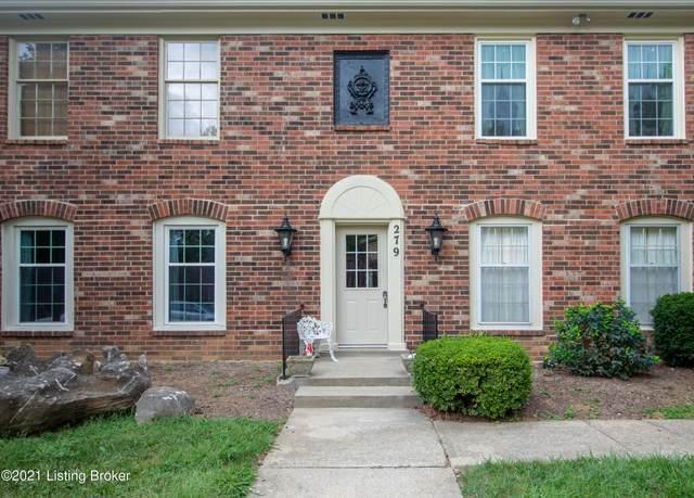 279 Salisbury Square #103, Louisville, KY 40207 (#1595196) :: Herg Group Impact