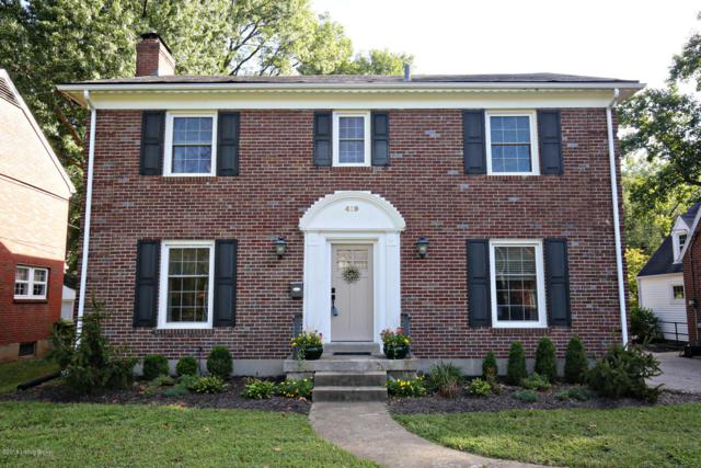 419 Breckenridge Ln, Louisville, KY 40207 (#1509422) :: Segrest Group