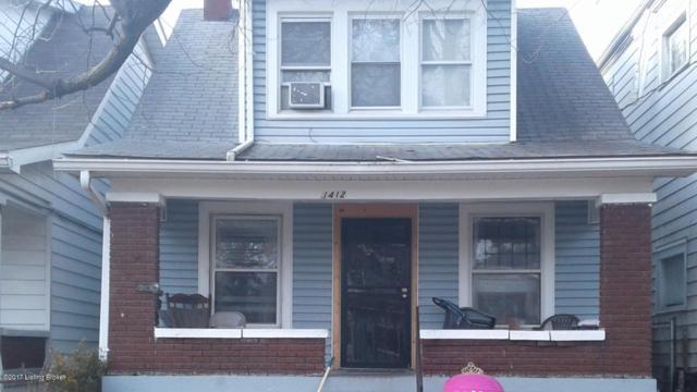 1412 Beech St, Louisville, KY 40211 (#1492461) :: The Sokoler-Medley Team