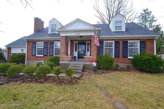 806 Alden Rd, Louisville, KY 40207 (#1498777) :: The Sokoler-Medley Team
