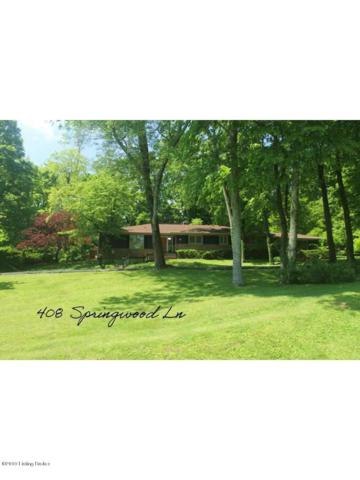 408 Springwood Ln, Louisville, KY 40207 (#1532460) :: The Sokoler-Medley Team