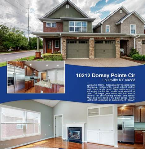 10212 Dorsey Pointe Cir, Louisville, KY 40223 (#1548622) :: The Stiller Group