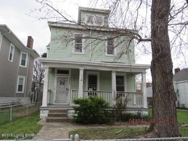 2309 Portland Ave, Louisville, KY 40212 (#1500434) :: The Elizabeth Monarch Group