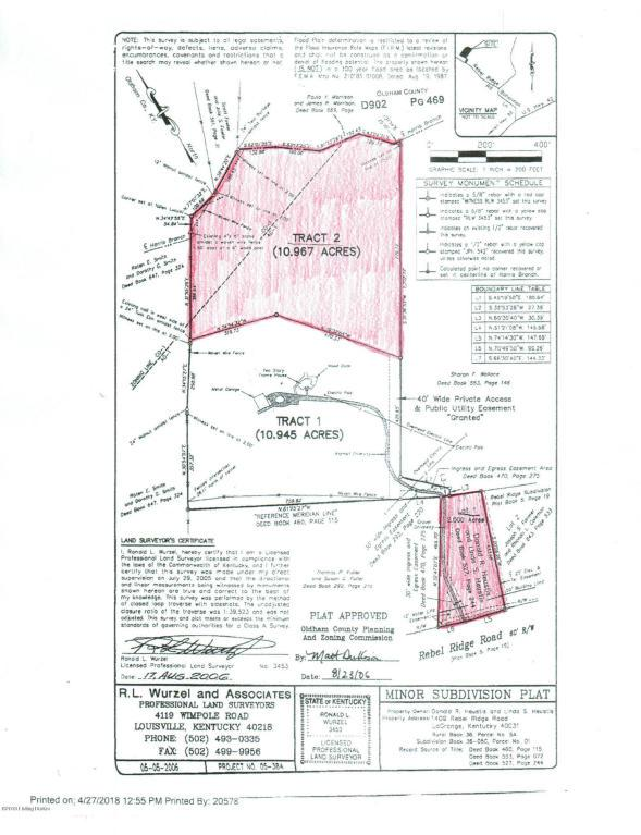 1407 Rebel Ridge Rd, La Grange, KY 40031 (#1507425) :: The Sokoler-Medley Team