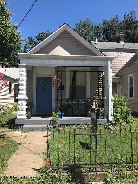 955 S Shelby St, Louisville, KY 40203 (#1509658) :: The Elizabeth Monarch Group