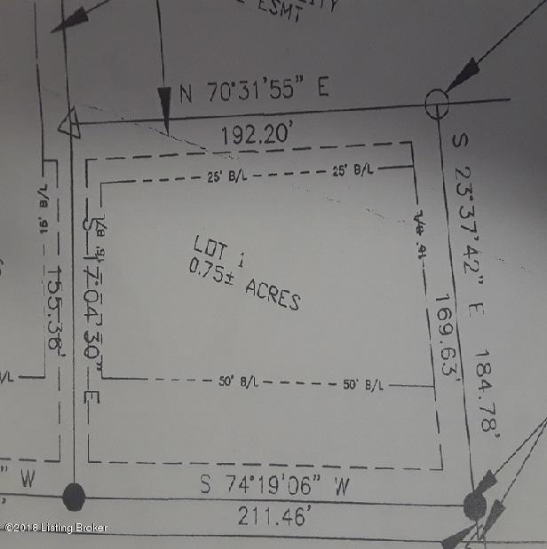 Lot 1 Fairview Ln, Shepherdsville, KY 40165 (#1512124) :: The Sokoler-Medley Team