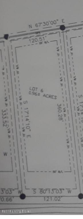 Lot 6 Fairview Ln, Shepherdsville, KY 40165 (#1512146) :: The Sokoler-Medley Team
