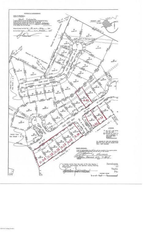 LOTS Oak Tree Way, Taylorsville, KY 40071 (#1449586) :: Segrest Group