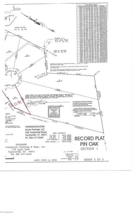 Lot 53 Oak Tree Way, Taylorsville, KY 40071 (#1449594) :: Segrest Group