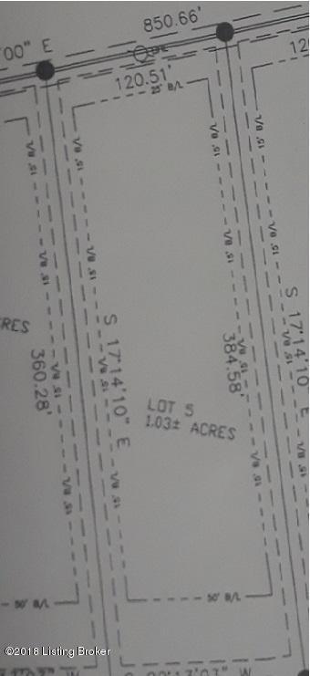 Lot 5 Fairview Ln, Shepherdsville, KY 40165 (#1512141) :: The Sokoler-Medley Team