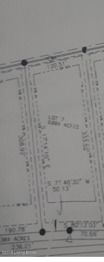 Lot 7 Fairview Ln, Shepherdsville, KY 40165 (#1512150) :: The Sokoler-Medley Team