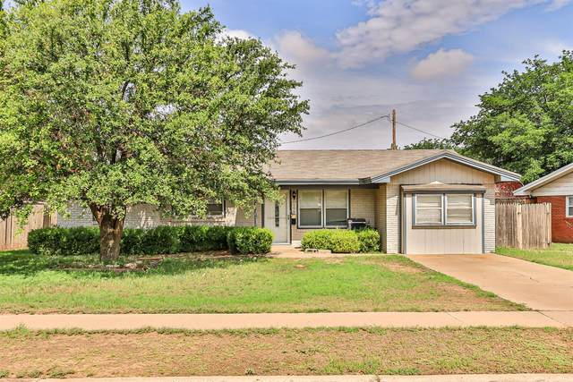 606 Beaufort Avenue, Lubbock, TX 79416 (MLS #202105332) :: Better Homes and Gardens Real Estate Blu Realty