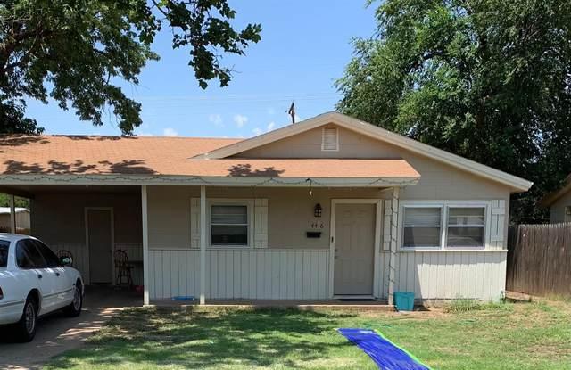 4414 37th Street, Lubbock, TX 79413 (MLS #202106078) :: The Lindsey Bartley Team