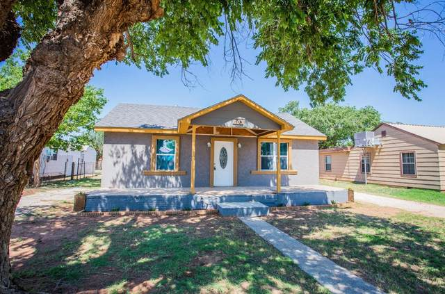 603 N Ave D, Denver City, TX 79323 (MLS #202106107) :: Better Homes and Gardens Real Estate Blu Realty