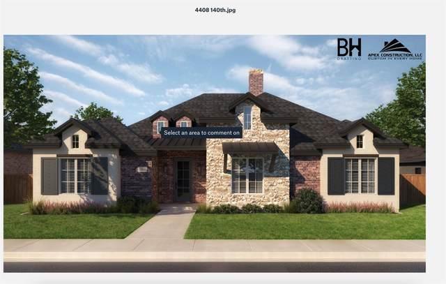 4408 140th Street, Lubbock, TX 79424 (MLS #202106363) :: Reside in Lubbock | Keller Williams Realty