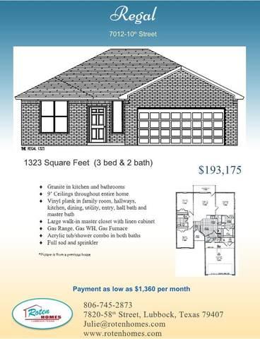 7012 10th Street, Lubbock, TX 79416 (MLS #202109982) :: McDougal Realtors