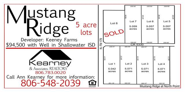 15500-Lot 5 N Farm Road 179, Shallowater, TX 79363 (MLS #202110089) :: The Lindsey Bartley Team