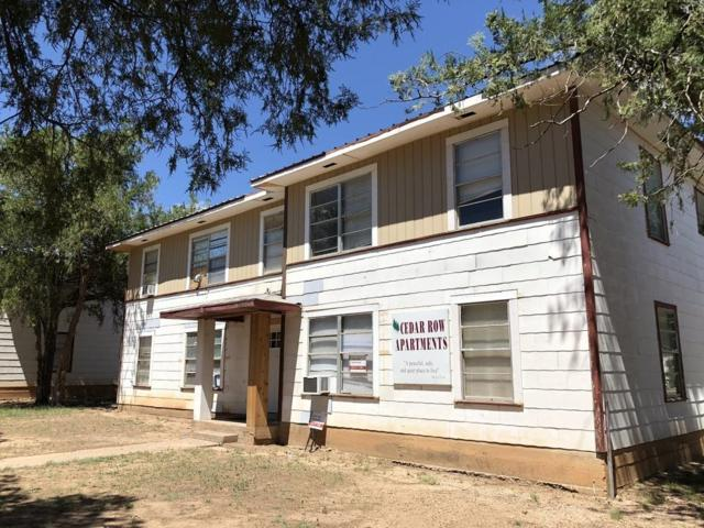 1909 Coleman Street, Snyder, TX 79549 (MLS #201810641) :: The Lindsey Bartley Team