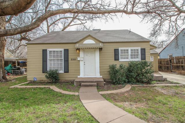 2315 28th Street, Lubbock, TX 79411 (MLS #201901338) :: Lyons Realty