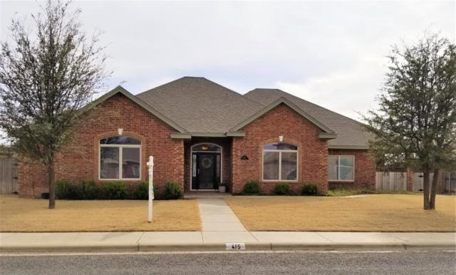 415 Tiger Street, Wolfforth, TX 79382 (MLS #201901835) :: Lyons Realty