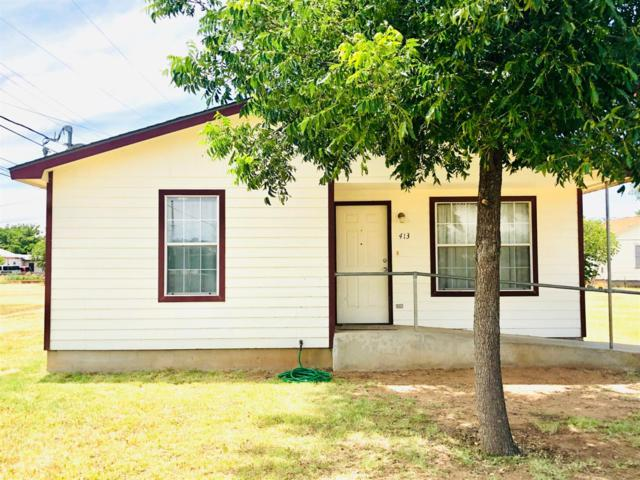 413 N Ave O, Post, TX 79356 (MLS #201906374) :: The Lindsey Bartley Team