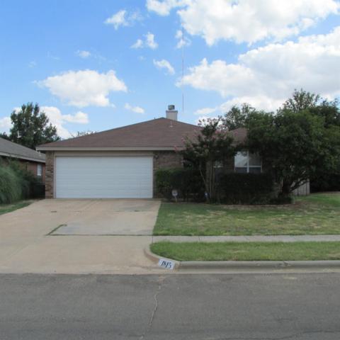 1815 79th Street, Lubbock, TX 79423 (MLS #201906818) :: Lyons Realty