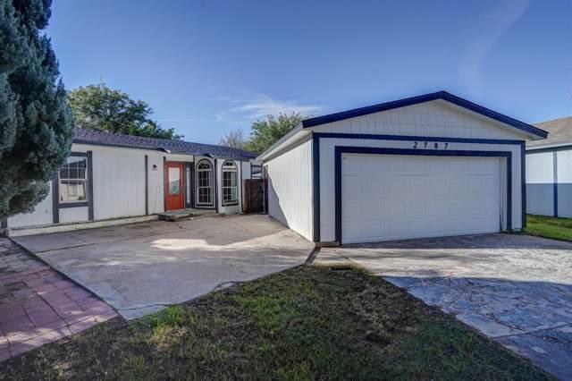 2707 92nd Street, Lubbock, TX 79423 (MLS #201907449) :: Lyons Realty