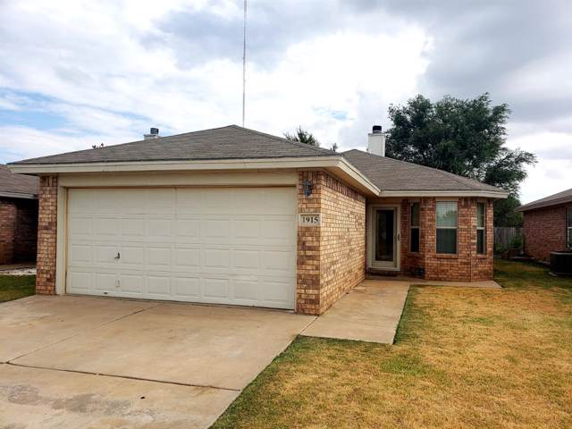 1915 80th Street, Lubbock, TX 79423 (MLS #201908385) :: The Lindsey Bartley Team